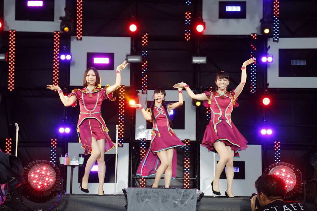 Perfume's performances from Amuse Fes 2014 BBQ in Tsumagoi