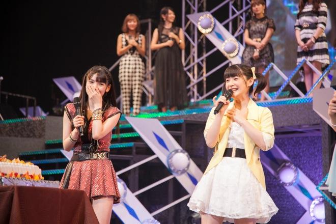 Hello! Project wishes Sayumi Michishige a happy birthday on tour