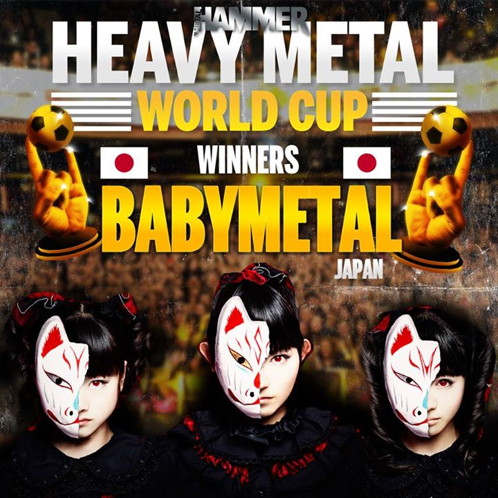 "BABYMETAL win Heavy Metal World Cup; ""true metalheads"" are upset"