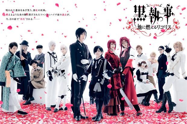 Matsushita Yuya reprises role in new Black Butler Musical
