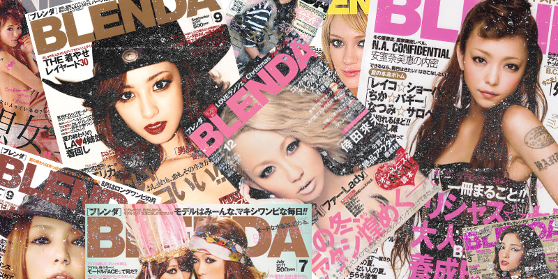 BLENDA magazine to cease production, why are so many Fashion magazines in Japan shutting down?
