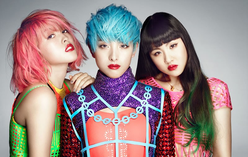 Nicola Formichetti's girl group color-code tease debut 'I LIKE DAT'