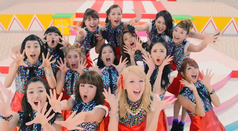 E-girls release short PV for 'Odoru Ponpokorin'