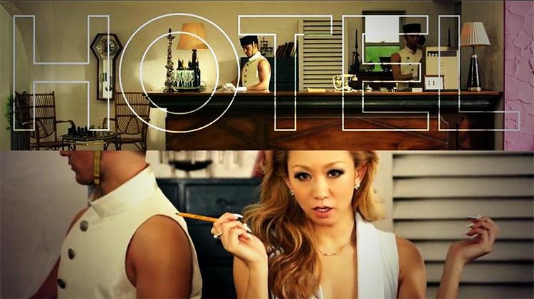 "Koda Kumi reveals the full PV for ""HOTEL"""