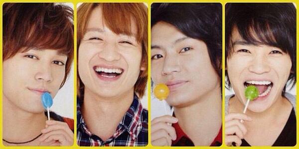 """Kis-My-Ft2 Subgroup Busaiku's Second Single, """"Ti Ti Ti Terette Teretiti~ Dare no Ketsu"""""""