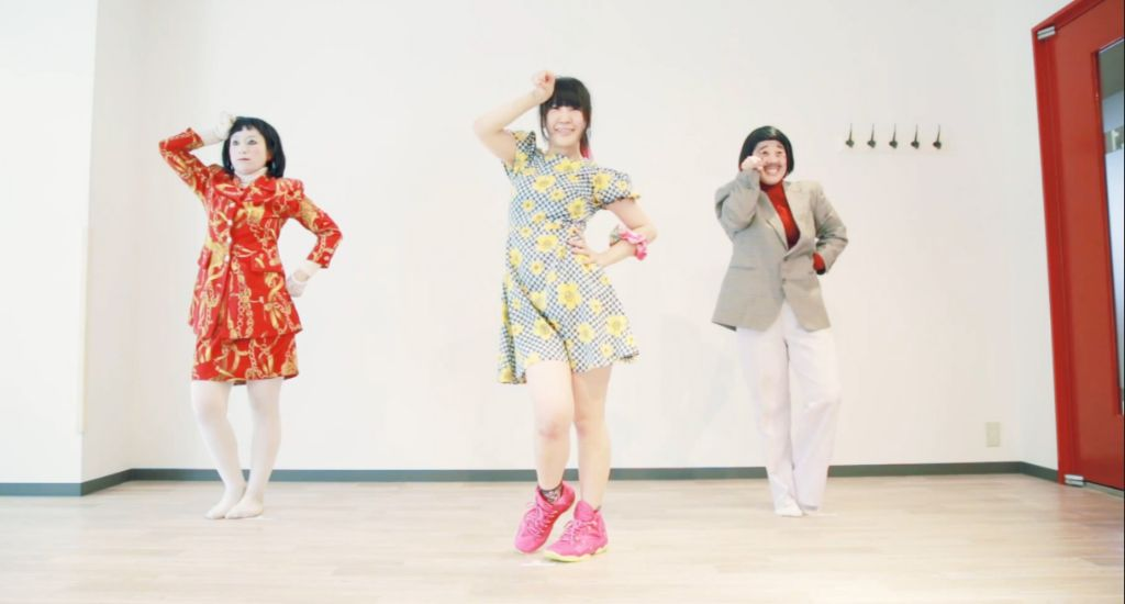 Seiko Oomori posts 'Kyurukyuru' dance video with Nihon Elekiteru Rengo