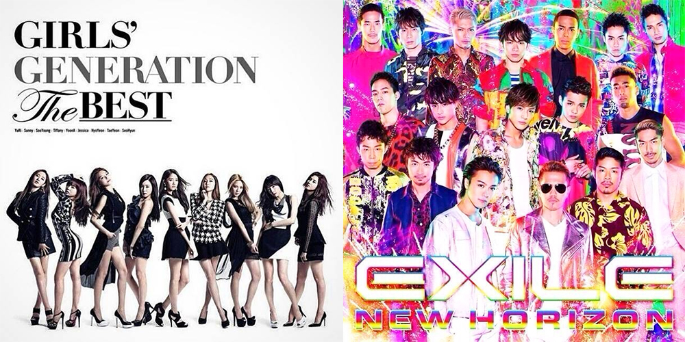 Girls' Generation and EXILE top the Weekly Oricon Charts 7/21 – 7/27