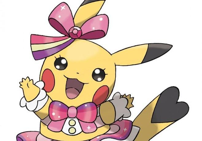 Pikachu jumps on the Idol bandwagon