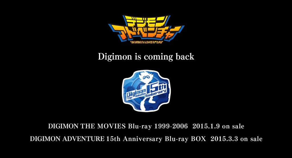 New Digimon Adventure series announced for Spring 2015