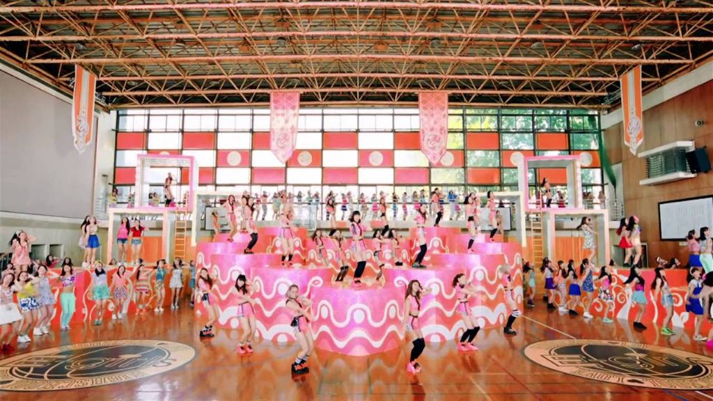 Check out the PV 'Highschool ♡ love' from E-Girls