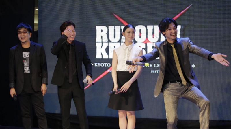 'Rurouni Kenshin' Cast and Director Attends Manila Premiere