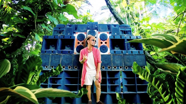 Check out RYO from ORANGE RANGE's reggae song 'Tim Don!-Don!' feat. DJ KEIN