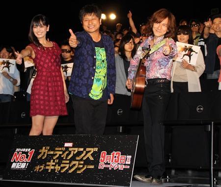 Diamond☆Yukai gives high praise for 'Guardians of the Galaxy'