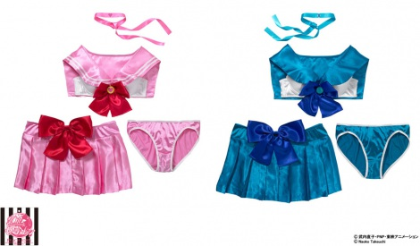 Bandai & PEACH JOHN collaborate for new Sailor Moon lingerie sets