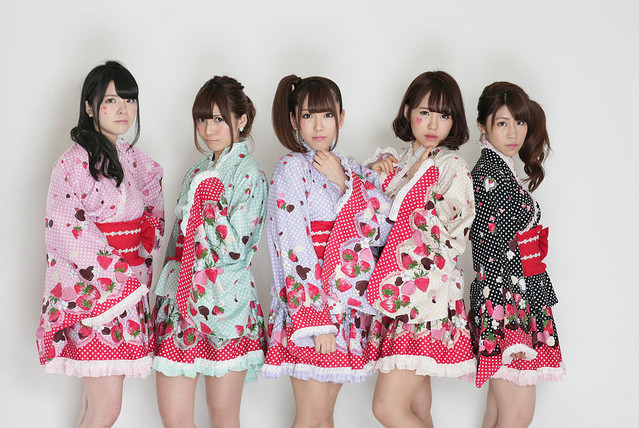 Idol group STARMARIE become App models & are set to perform in Taiwan