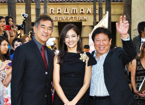 Meisa Kuroki attends 'Lupin III' screening in Los Angeles