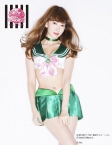 kojima haruna sailor jupiter lingerie