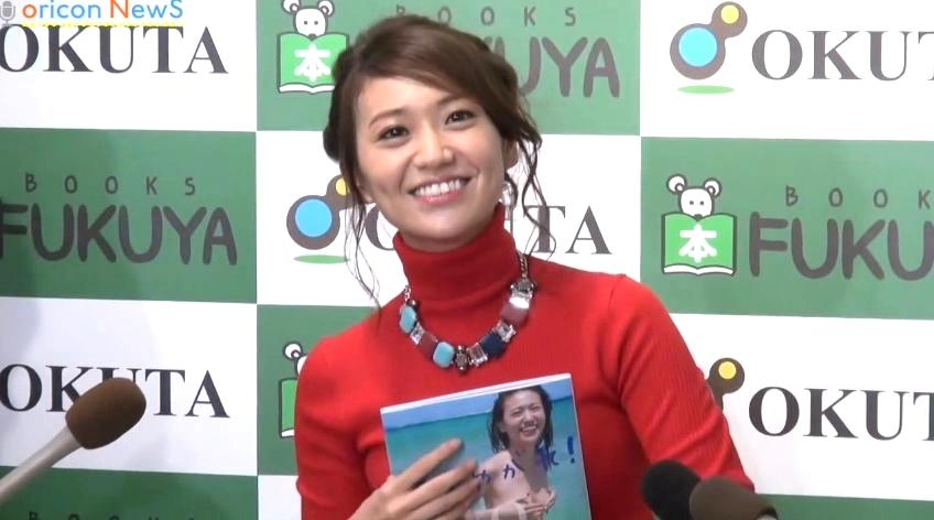 Yuko Oshima talks about her nearly nude photo book and her love life since graduation