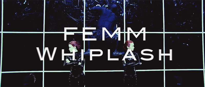 "FEMM unveil YouTube version of new PV ""Whiplash"""