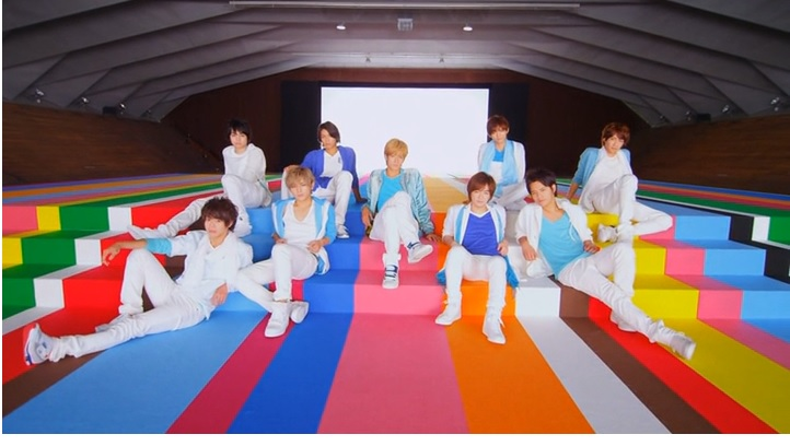 Hey! Say! JUMP Gets Funky with Weekender and Asu e no Yell PV