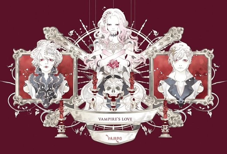 Illustrator Kashima designed cover for VAMPS's new single