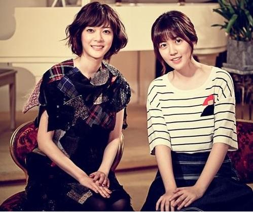 """Juri Ueno meets Korean """"Nodame Cantabile"""" Shim Eun Kyung"""