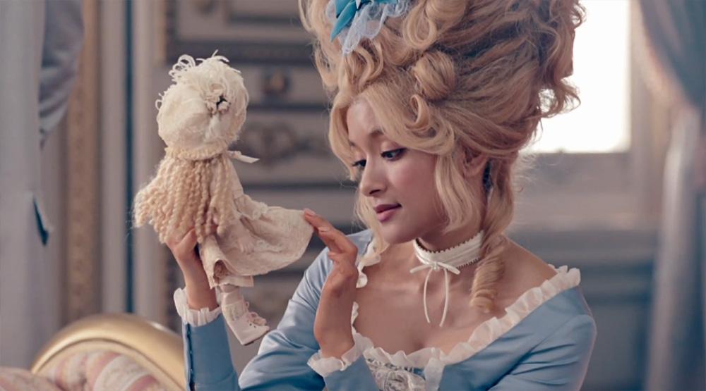 Rola channels Marie Antoinette in new GU commercial
