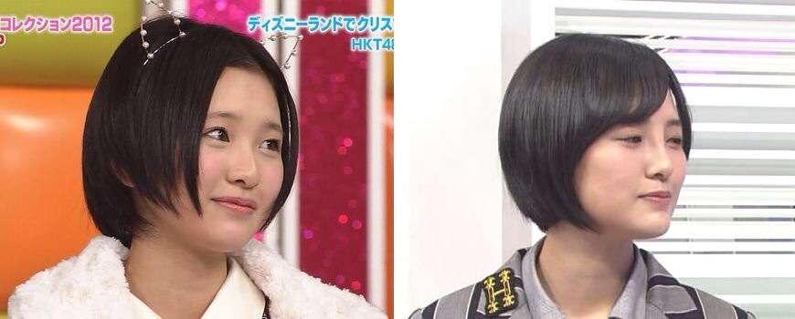 HKT48 member Kodama Haruka has had a nose job?
