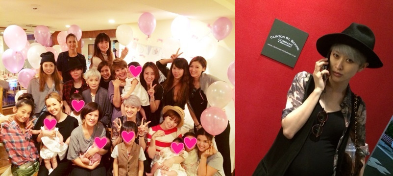 Yu Yamada looks cute at her baby shower