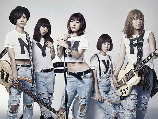 All-female band LAGOON is revealed, featuring Miori Takimoto on vocals