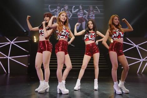 KARA opens up their 3rd Japan tour in Fukuoka