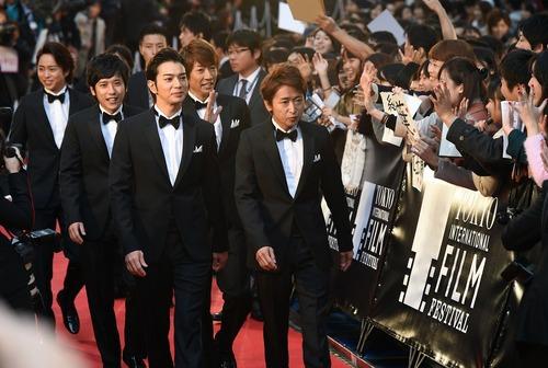 2014 Tokyo International Film Festival kicks off to superstar fanfare