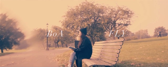 "BoA's ""Fly"" PV filmed in London is Released"