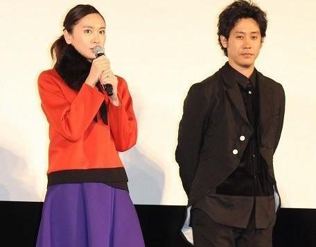 "Aragaki Yui and Oizumi Yo Attends Preview for ""Twilight Sasara Saya"" Movie"