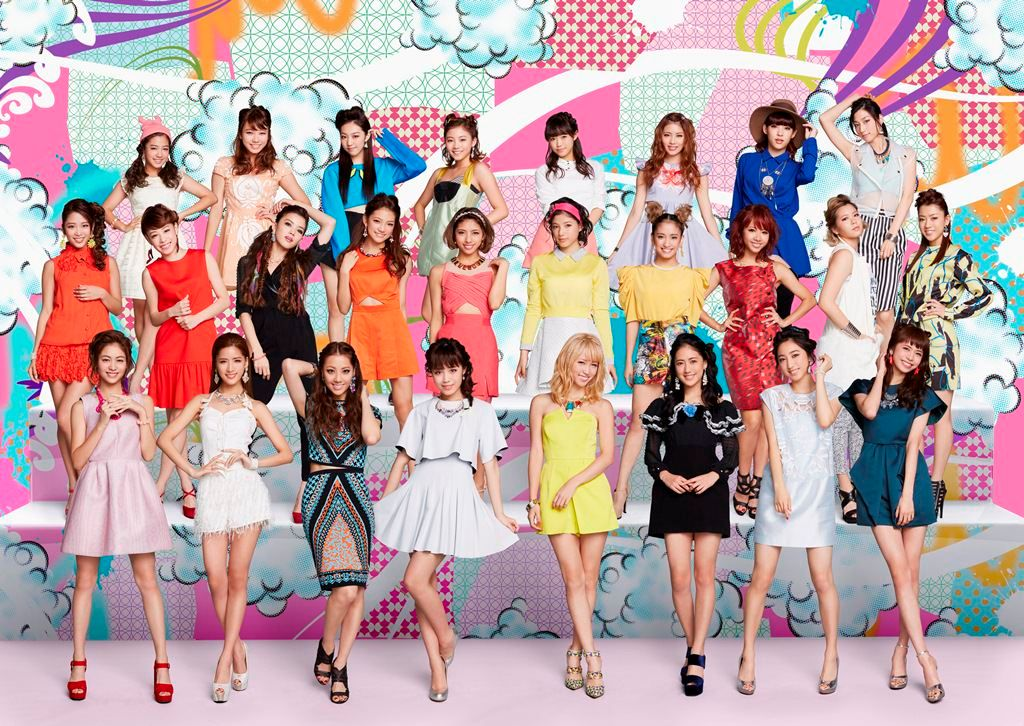 "E-girls announces new album ""E.G. Time"""