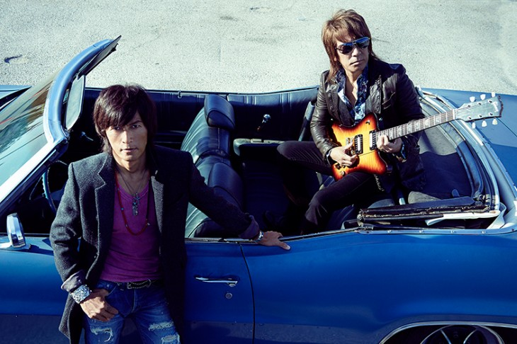 B'z' new song to be used as the theme for an NHK Drama