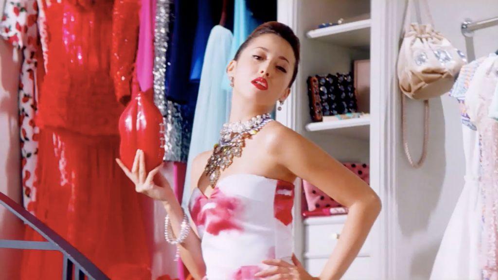 Erika Sawajiri promotes new female-friendly fashion app