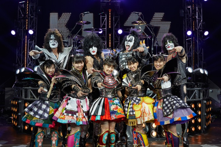 Momoiro Clover Z and KISS to release collaboration single