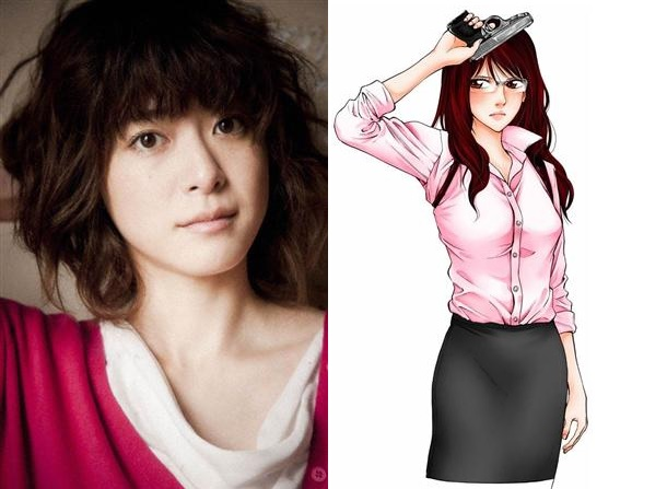 "Ueno Juri joins Oguri Shun and Ikuta Toma in ""Ouroboros"""