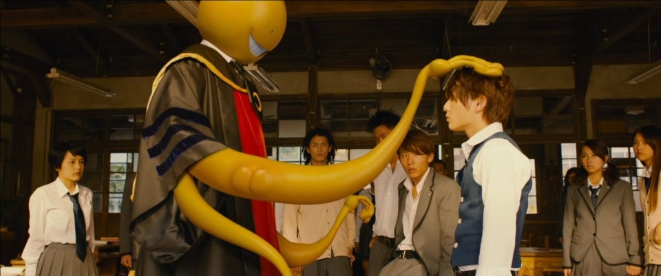 "A look at the CG of ""Assassination Classroom"" live-action Movie"