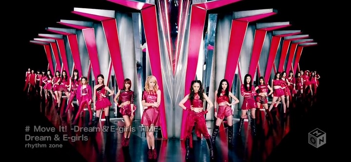 """E-girls releases """"Move It! -Dream & E-girls TIME-"""" PV from new album"""