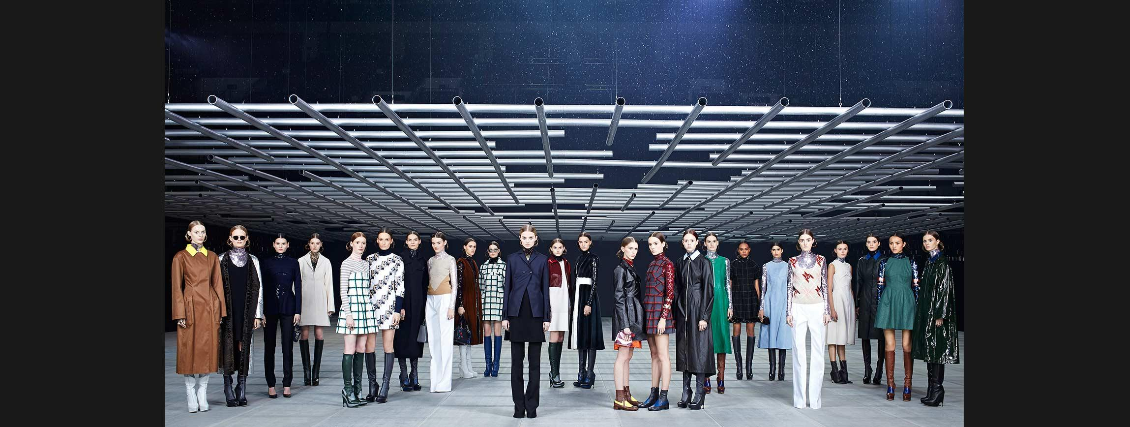 Various Celebrities Go to See Christian Dior's Pre-Fall 2015 Fashion Show in Tokyo