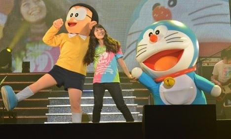 """miwa Sings """"360°"""" for """"Doraemon: Nobita's Space Heroes"""" Movie"""