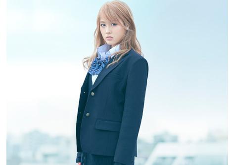"Arimura Kasumi goes blonde for ""Biri Gyaru"""