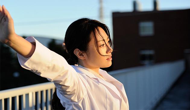 "Kamenashi Kazuya and Fukada Kyoko's steamy poster for ""Second Love"""