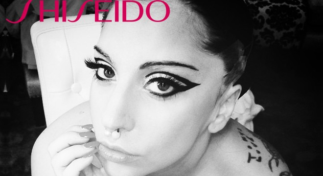 Lady Gaga Snaps 50 Selfies for Shiseido's beauty ad campaign