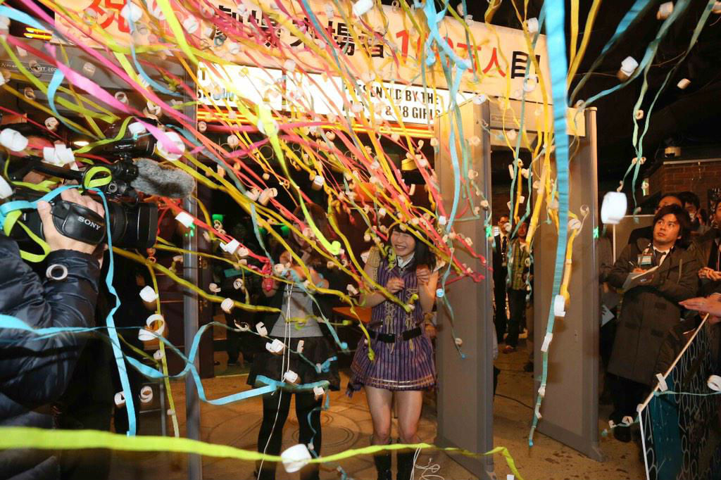 AKB48 theater celebrates its one-millionth audience member