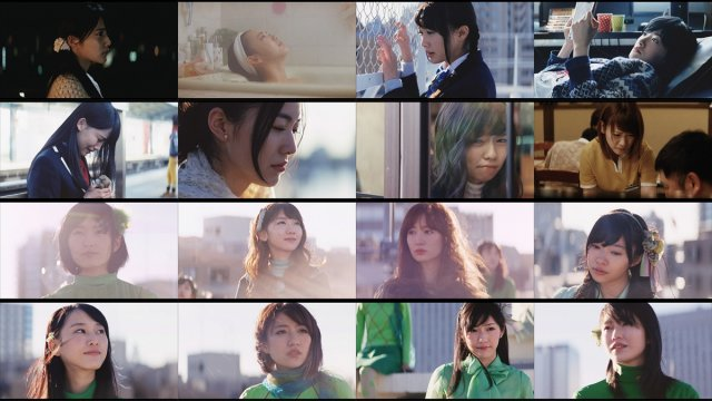 "AKB48 sheds tears in new music video ""Green Flash"""