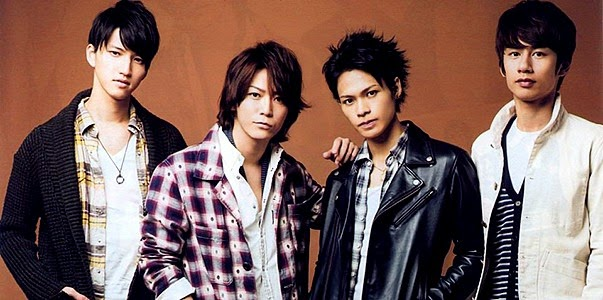 "KAT-TUN announces new single ""KISS KISS KISS"" for ""Second Love"" theme song"