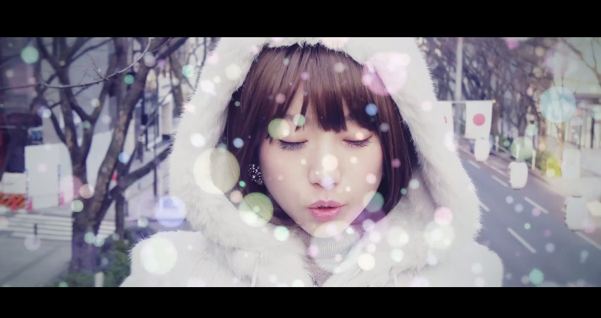 SAWA battles the cold in new PV for LastSnowFlakes